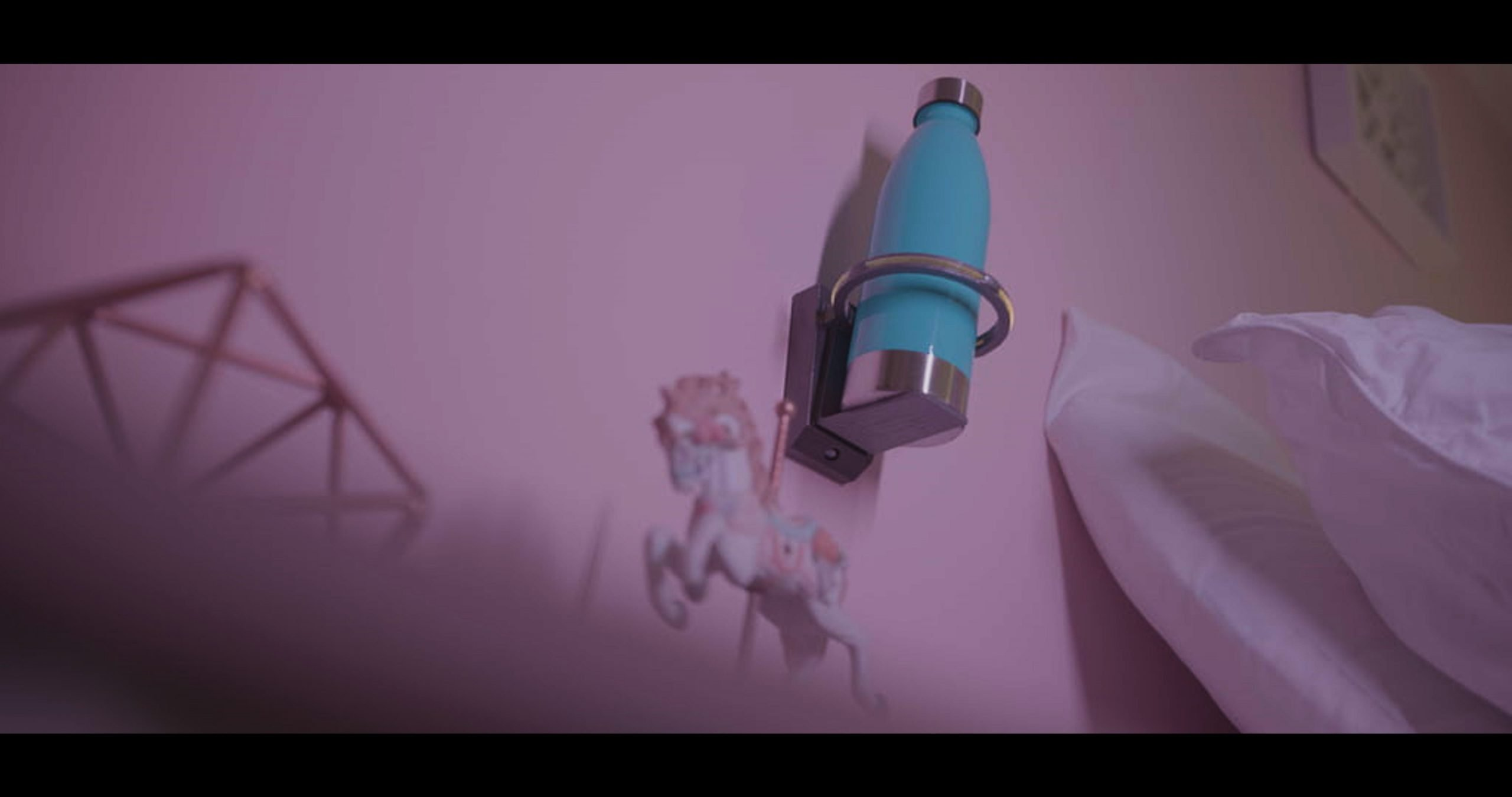 Bedside Bearer: First Ever Wall Mounted, Motion-Activated Night-light Cup Holder