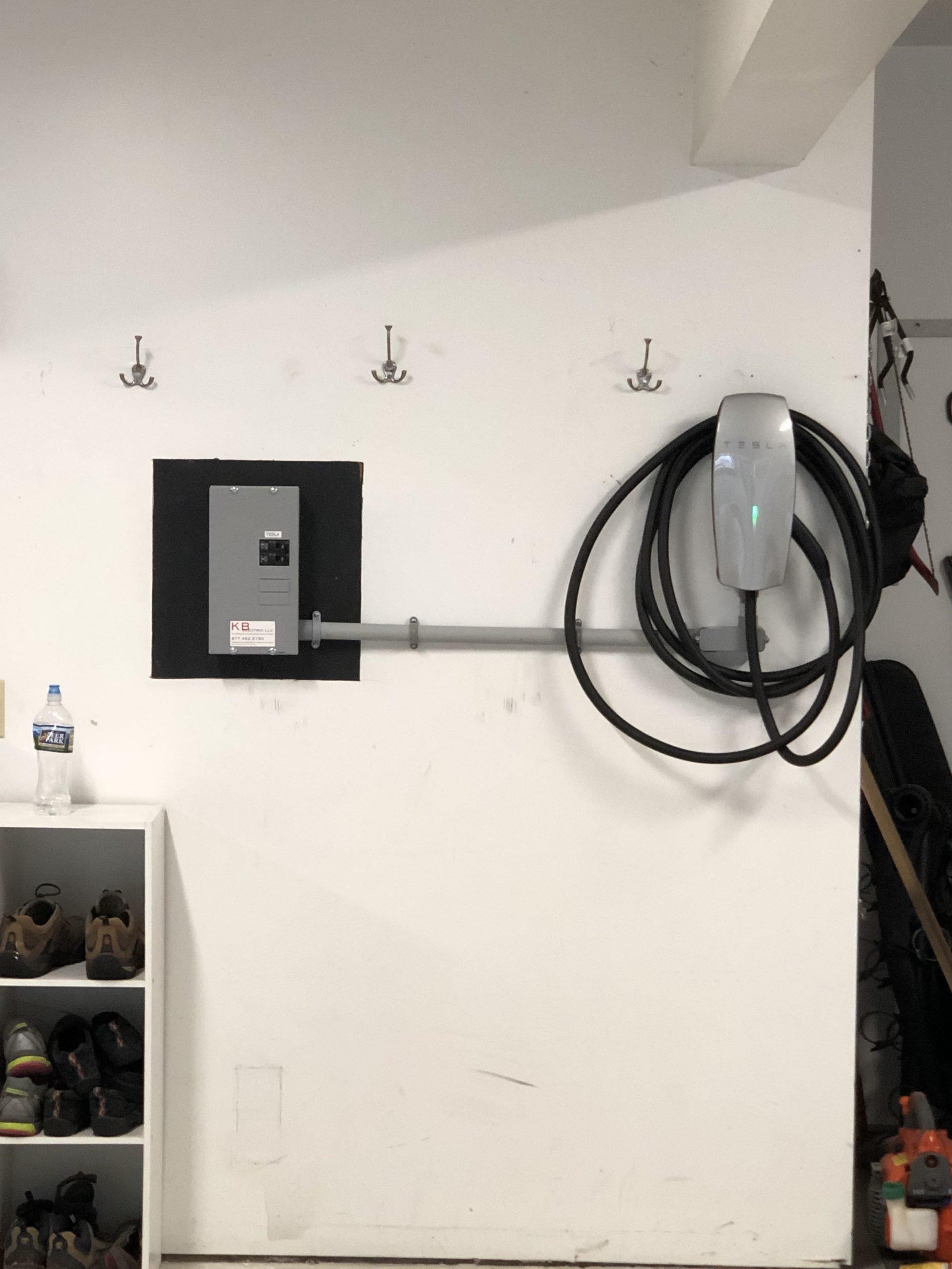 hardwired ev charging installation