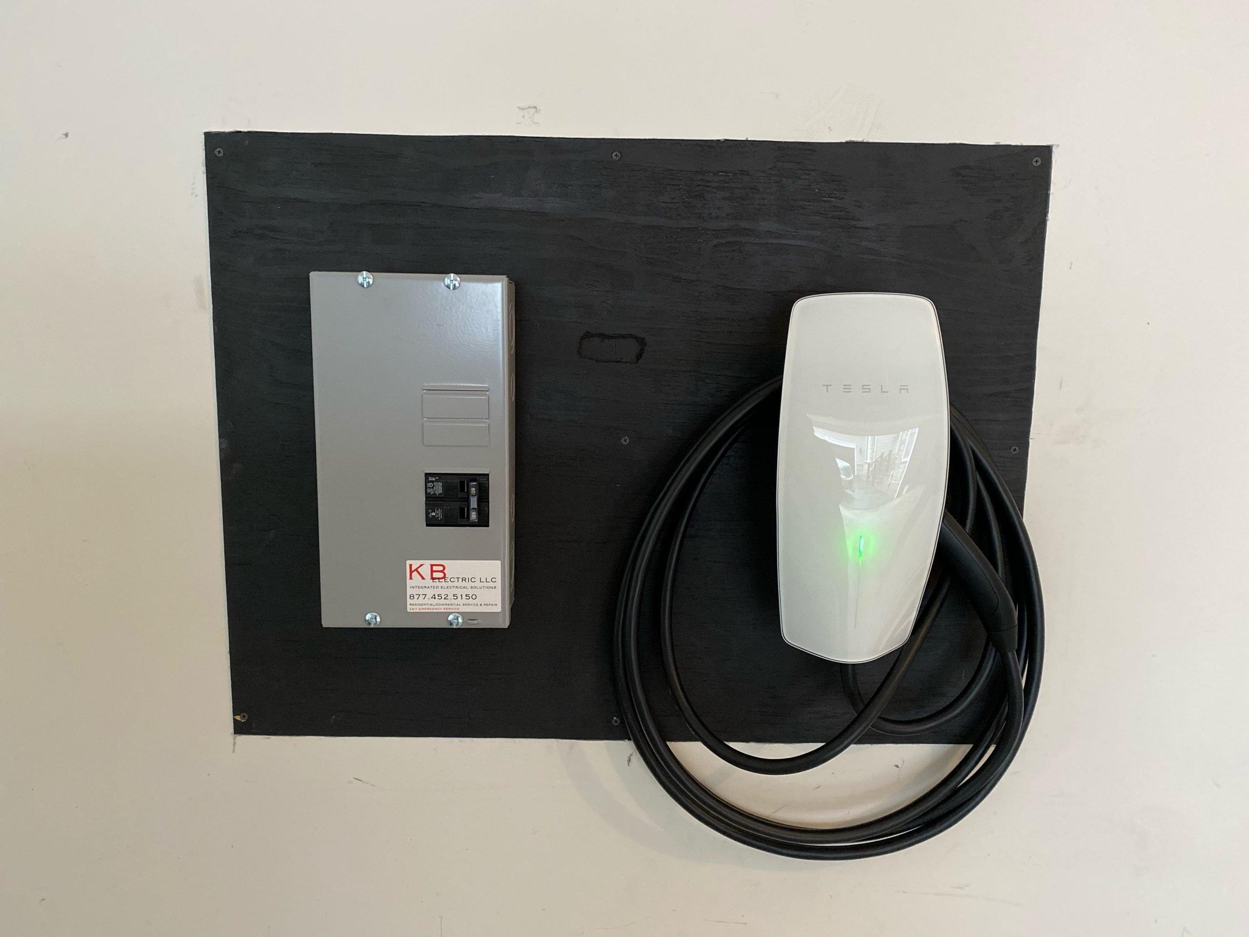 Hardwired EV Charger Installation